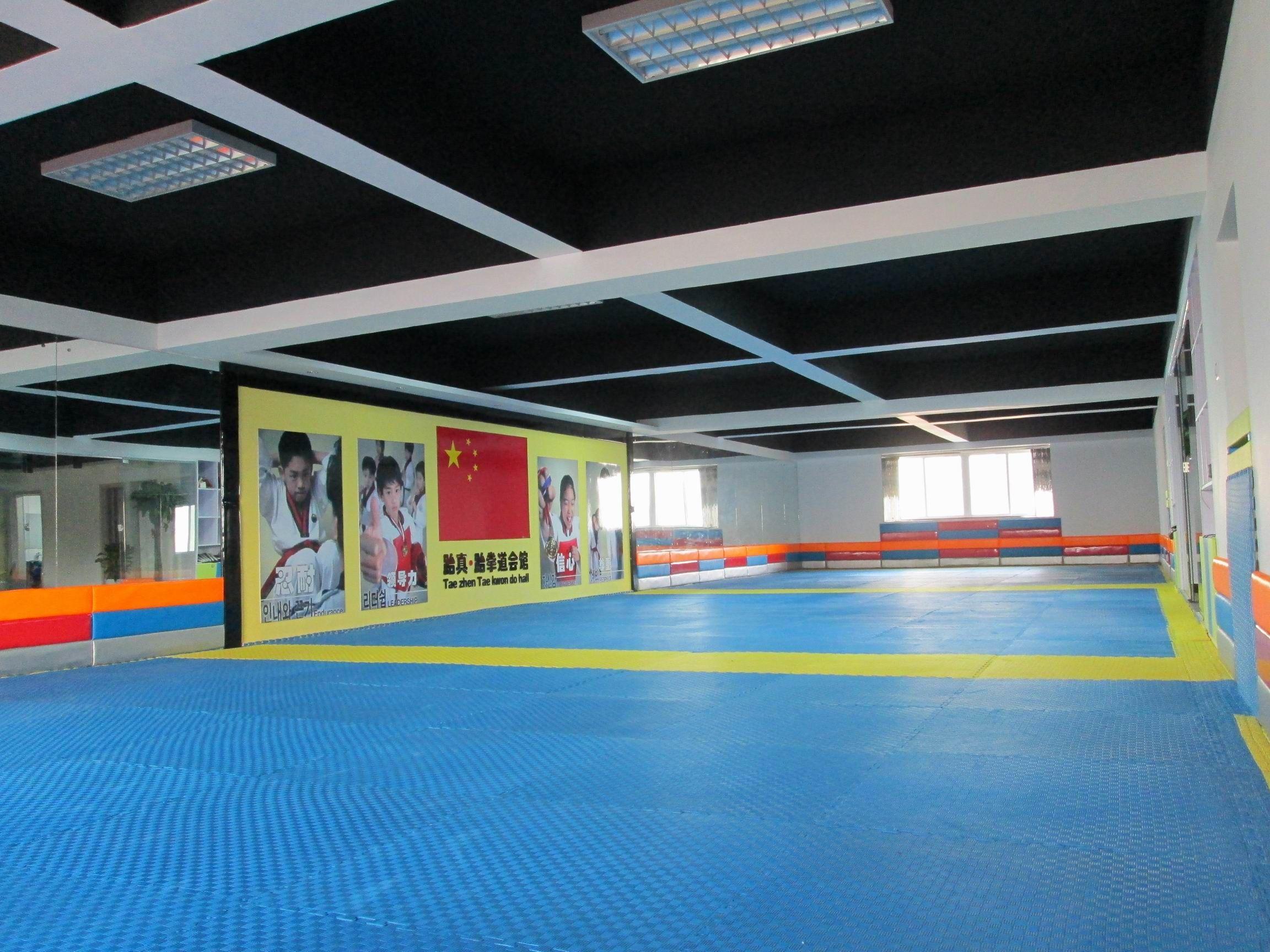 郑州跆拳道馆装修设计